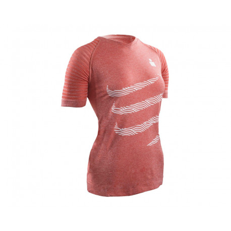 COMPRESSPORT TRAINING T-SHIRT W IRONMAN 17 PINK