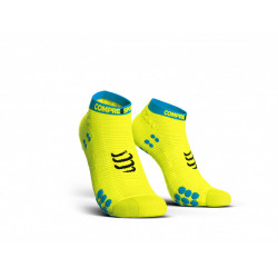 COMPRESSPORT PRO RACING SOCKS V3.0 RUN LOW FLUO YELLOW
