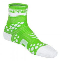 COMPRESSPORT PRO RACING SOCKS V2 FLUO GREEN