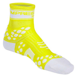 COMPRESSPORT PRO RACING SOCKS V2 FLUO YELLOW