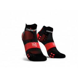 COMPRESSPORT PRO RACING SOCKS V3 ULTRALIGHT BLACK RED