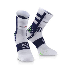 COMPRESSPORT PRO RACING SOCKS V3 ULTRALIGHT HIGH IRONMAN PUNCY BLUE