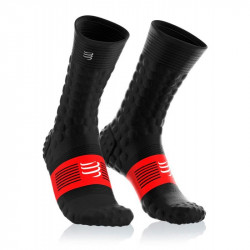 COMPRESSPORT PRO RACING SOCKS V3.0 WINTER RUN BLACK