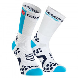 Compressport ProRacingSocks V2.1 Bike White Blue