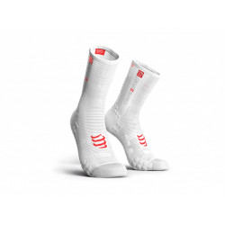 Compressport ProRacingSocks V3.0 Bike White