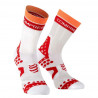 Compressport Pro Racing Socks Ultralight Bike White Red