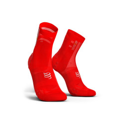 Compressport Pro Racing Socks V3.0 Ultralight Bike Red