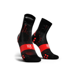 Compressport Pro Racing Socks V3.0 Ultralight Bike Black Red