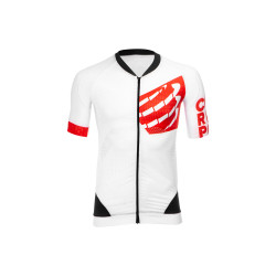 Compressport On Off Cycling Maillot Shirt White