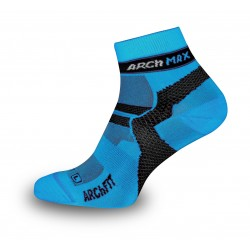 Arch Max Ungravity Socks Short Blue