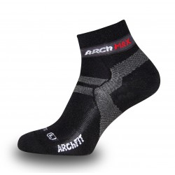 ARCH MAX SOCKS ULTRALIGHT SHORT BLACK