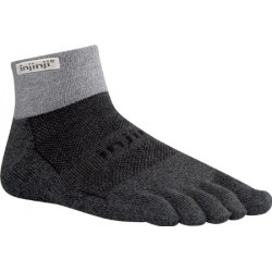 INJINJI TRAIL 2.0 PERFORMANCE MIDWEIGHT MINI-CREW GRANITE