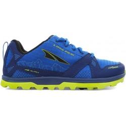 ALTRA KIDS LONE PEAK BLUE LIME