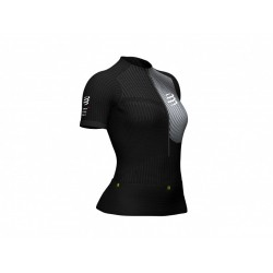 COMPRESSPORT POSTURAL WOMAN SS BLACK