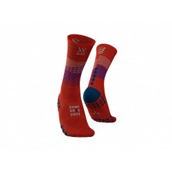 COMPRESSPORT MID COMPRESION SOCKS ORANGE
