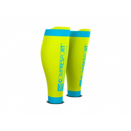 COMPRESSPORT R2 V2 FLUO YELLOW