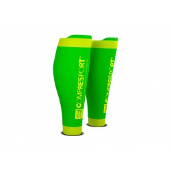 COMPRESSPORT R2 V2 FLUO GREEN