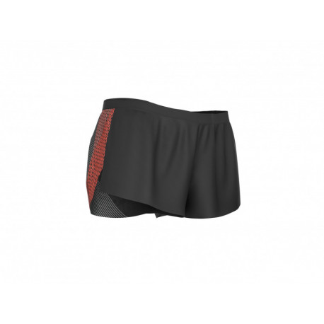 COMPRESSPORT RACING SPLIT SHORT MAN BLACK
