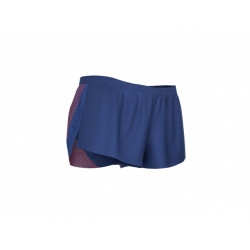 COMPRESSPORT RACING SPLIT SHORT MAN BLUE