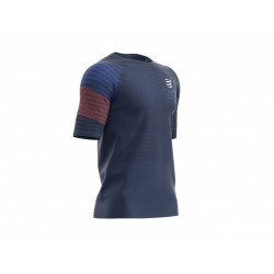 COMPRESSPORT RACING SS TSHIRT MAN BLUE