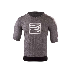 COMPRESSPORT TRAINING T-SHIRT GREY