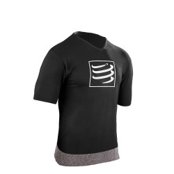 COMPRESSPORT TRAINING T-SHIRT BLACK