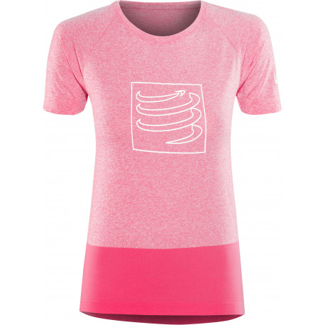 COMPRESSPORT TRAINING T-SHIRT W PINK